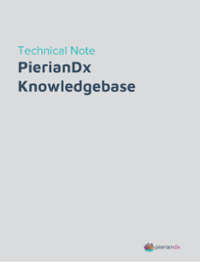PierianDx Knowledgebase Technical Note