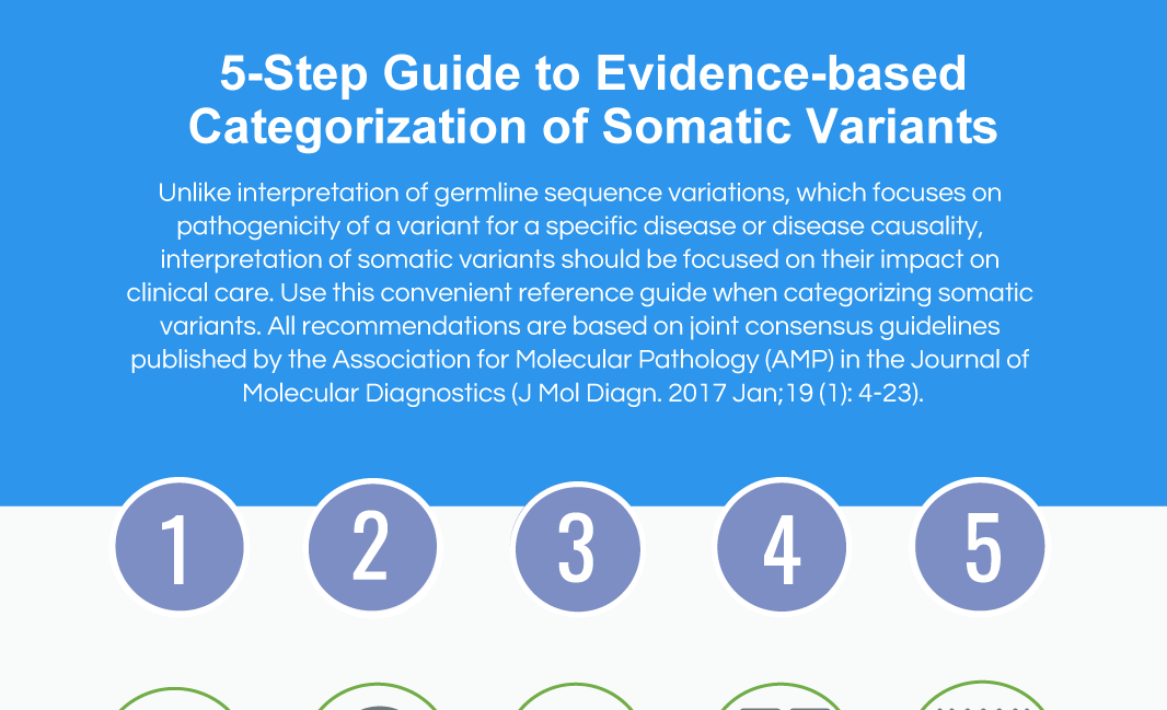 evidence-based categorization of somatic variants image