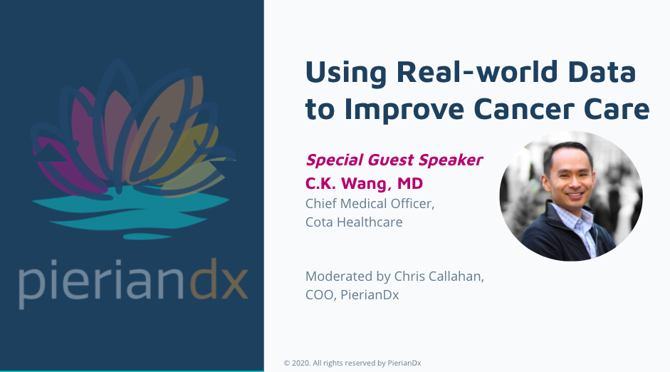 Using Real-world Data to Improve Cancer Care