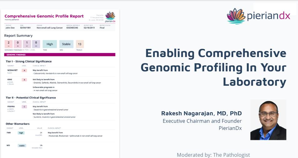 Enabling Comprehensive Genomic Profiling in Your Laboratory