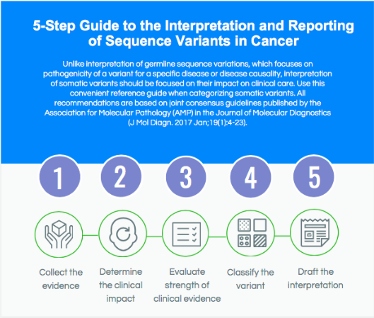 A Guide for the Interpretation and Reporting of Sequence Variants in Cancer