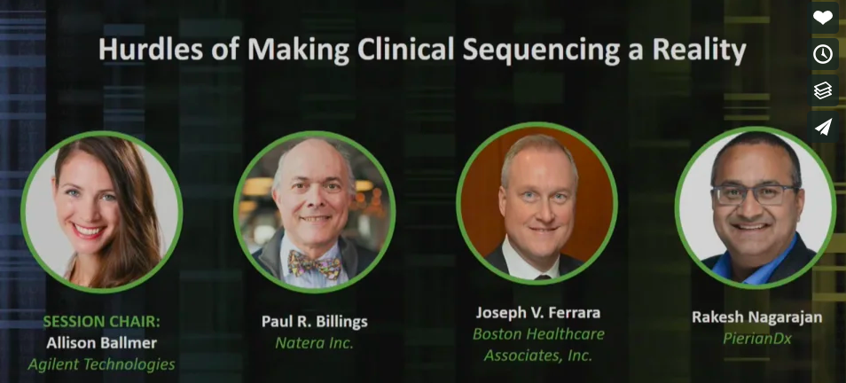 The Hurdles of Making Clinical Sequencing a Reality