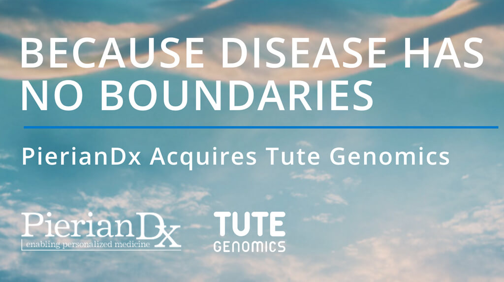 PierianDx Acquires Tute Genomics